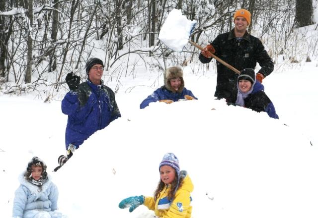 Snow fun 2009