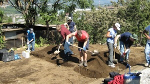 Guatemala building foundation