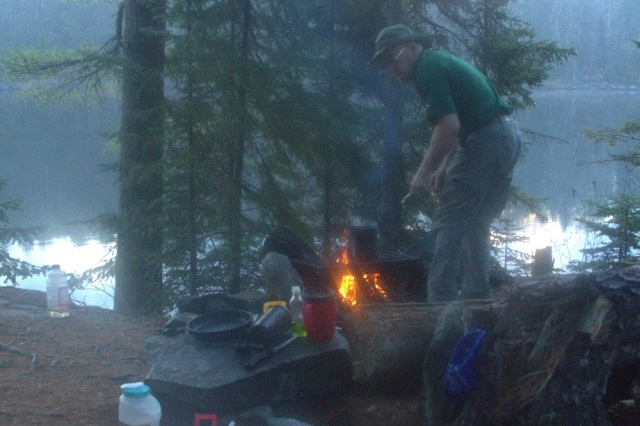 Morning fire BWCA 2014 email