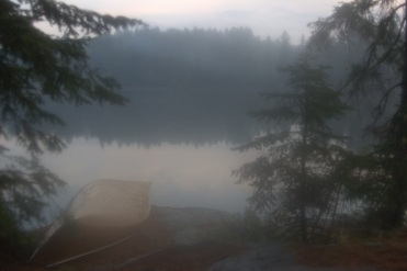 Canoe in the mist email