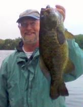 One Monster Smallmouth Bass