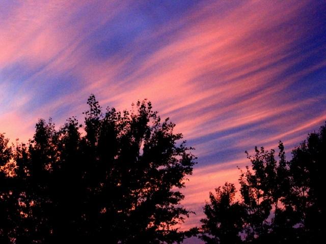Sunset rays eml