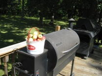 apples on smoker eml