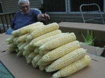 dad husked corn eml