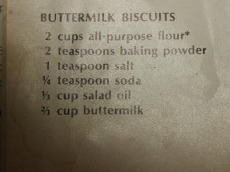 B&G recipe