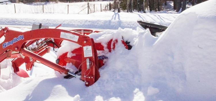 Snow Blow Tractor eml