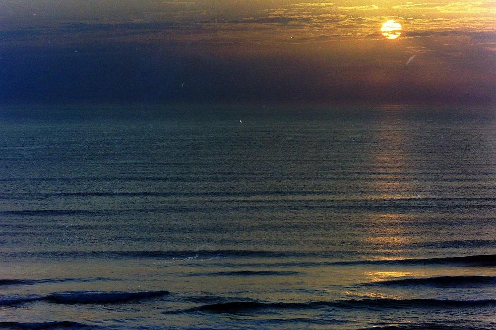 Sun over the Sea
